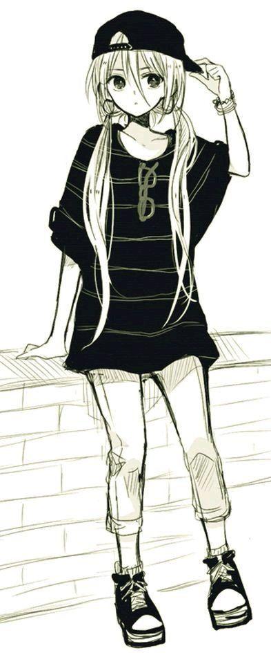 Картинки для срисовки дерзкие аниме