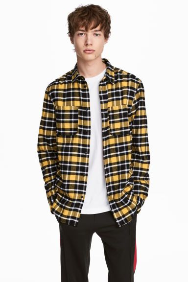 Flanellhemd | Flanell outfits, Flanell und Männer hemden