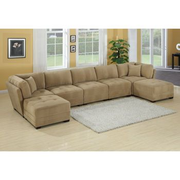 Canby 7-piece Modular Sectional | decorating | Pinterest | Costco Living rooms and Room ideas  sc 1 st  Pinterest : 7 piece modular sectional sofa - Sectionals, Sofas & Couches