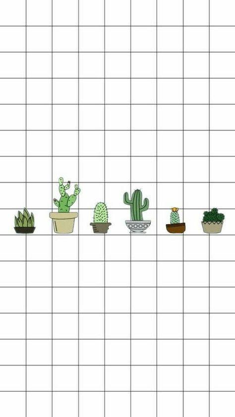 Aesthetic Wallpaper Pastel Ipad 51 Super Ideas Kertas Dinding Tanaman Hijau Kaktus