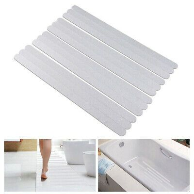 Advertisement Safety Non Skid Adhesive Round Shape Bathroom Tape Mat Bathtub Slip Stickers In 2020 Flooring For Stairs Shower Bath Shower Treads