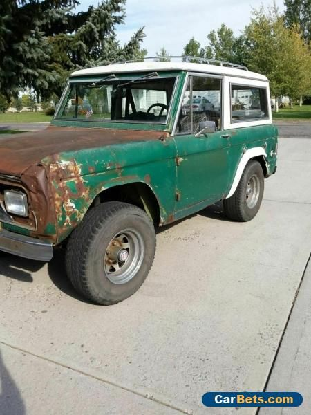 1969 Ford Bronco Ford Bronco Forsale Canada Ford Bronco Ford Excursion Cars For Sale