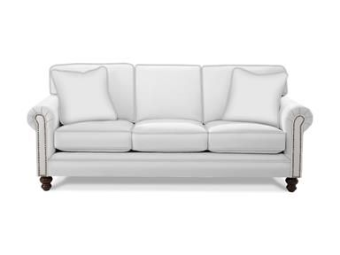 748550 An Updated Classic, This Simple Lawson Arm Sofa Is Easy To Live With  And Easy To Maintain. It Features Attached Box Border Backs To Keep A Nu2026