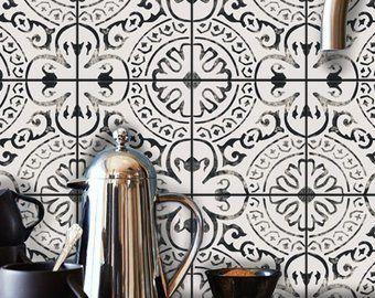 Encaustic Moroccan Tile Wall Stair Floor Self Adhesive Vinyl Flooring For Stairs Flooring Wall Tiles