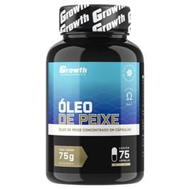 Oleo De Peixe Omega 3 75 Softgel Growth Supplements Oleo