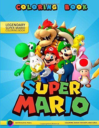 20 Super Mario Coloring Book In 2020 Coloring Books Super Mario Christmas Coloring Books