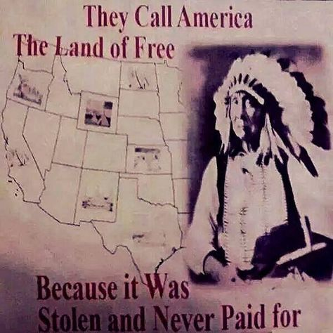 They call America 'Land of the Free'.