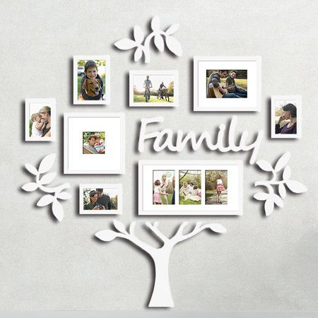 Family Tree Photo Frame Set College Frame Wall Decoration Combination Pvc Picture Frame Selfie Gallery Collage With Full Size Hanging Template Wall Mounti Family Tree Photo Family Tree