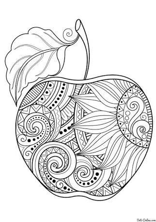 Resultado De Imagen Para Mandalas De Frutas Dificiles September