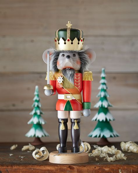 Mouse King Nutcracker by Ulbricht at Neiman Marcus.