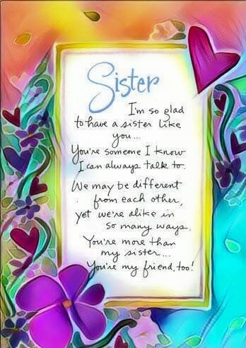 Pin By Mary Ward On Sisters Sister Birthday Quotes Sister Quotes My Sister Quotes