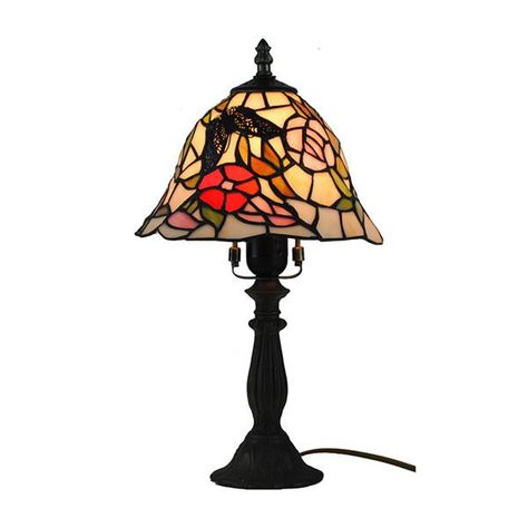 Dale Tiffany Butterfly Table Lamp TL186