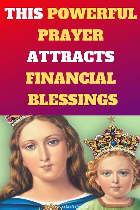 This Powerful Prayer attracts financial Blessings