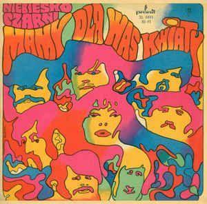 70s Ilustration Niebiesko Czarni Mamy Dla Was Kwiaty Vinyl Lp Album At Discogs Hippie Art Psychedelic Poster Album Cover Art