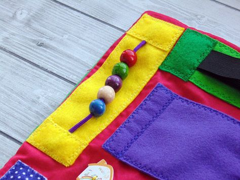 Busy Blanket Fidget For Dementia Skills Board