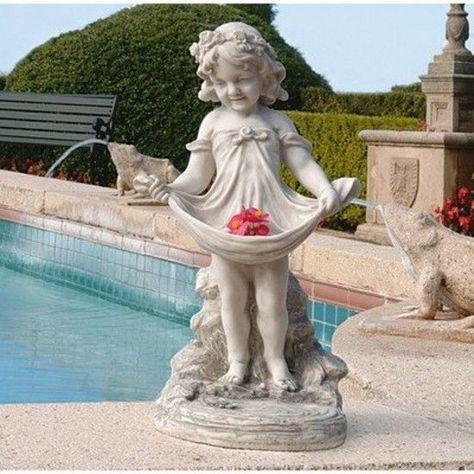 Garden Sculpture Ornament Outdoor Aail S Bountiful A