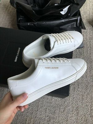 YSL Andy Leather Sneakers (36/6