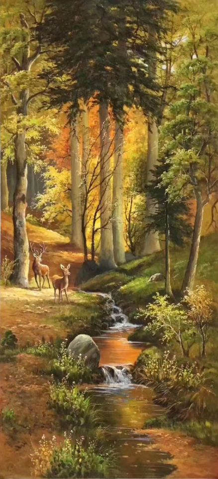 52 Trendy Painting Canvas Landscape Oil Wall Art Painting Landscape Paintings Oil Painting Landscape Nature Paintings
