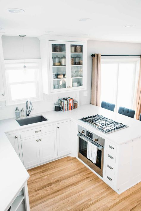 ideas about Small White Kitchens on Pinterest