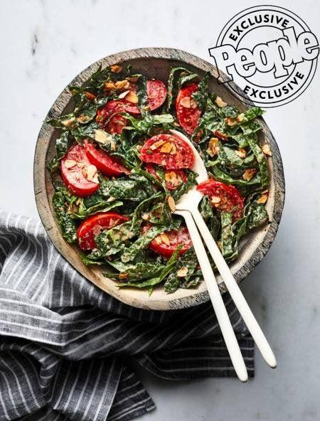 Antoni Porowski S Caesar Salad With Almond Vinaigrette Recipes Food Experiments Food