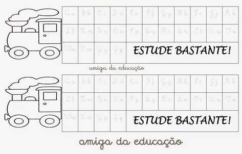 Alfabeto De Mesa Com Imagens Letras Cursivas Maiusculas