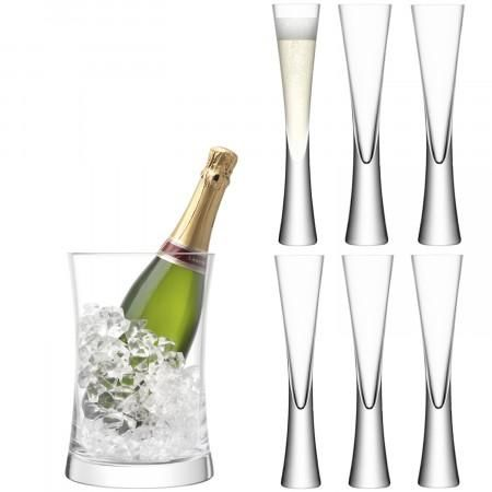Moya Champagne Serving Gift Set By Lsa