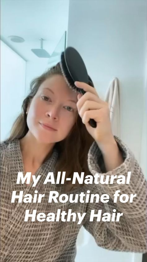 My All-Natural Hair Routine for Healthy Hair