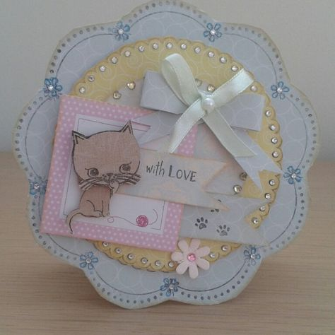 Little meow card