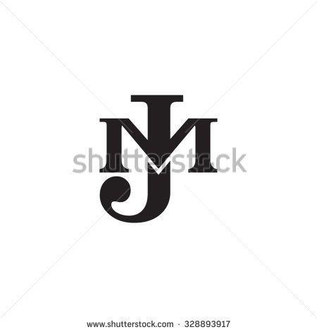 Letter M And J Monogram Logo Monogram Logo Identity Design Logo Logo Design Art