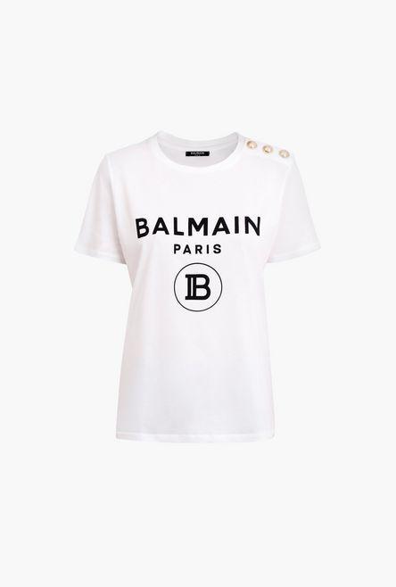 t shirt balmain nera