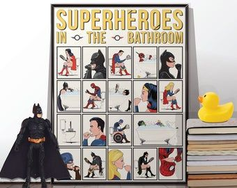Pin On Superhero Bathroom