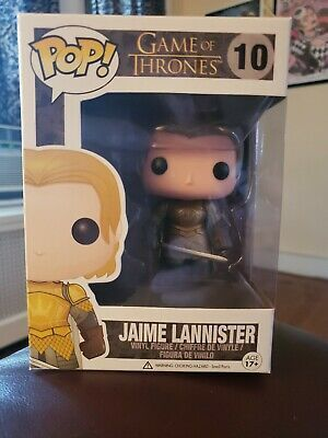 FUNKO POP Game Of Thrones Jaime Lannister 10 Action Figure Nuovo Da Collezione