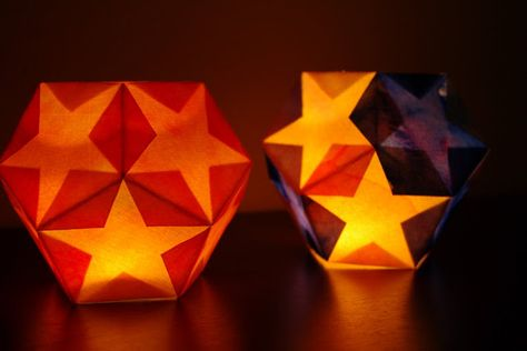 This Waldorf inspired paper lantern is simple to make and perfect for Winter Solstice, Christmas or other holiday celebrations!