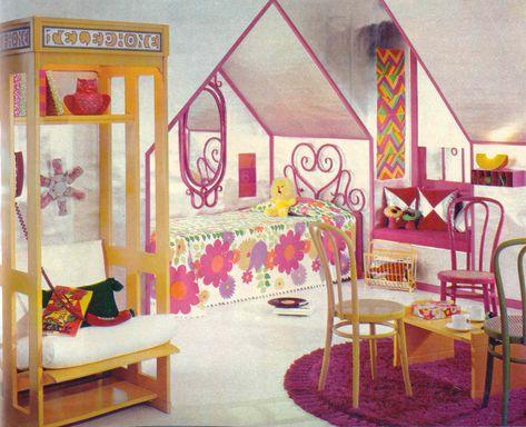 1950s bedroom | laminate countertops, vintage, retro | The Fab ...