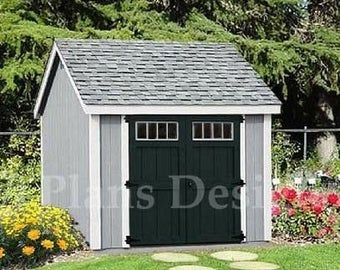 How to build storage shed like a pro by ShedPlans on Etsy
