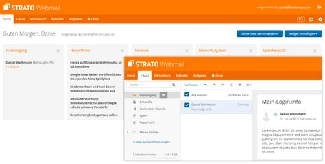 Jibing effect Mail Communicator Strato offers can persuade