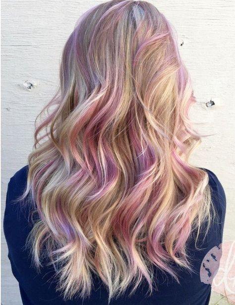 dawnbradleyhair_-pink streaks hair color                                                                                                                                                      More