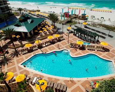Hilton Sandestin Beach Golf Resort Spa Destin Fl Hotels Hotel Pool Aerial View Hotels In Destin Florida Florida Hotels Florida Beach Resorts