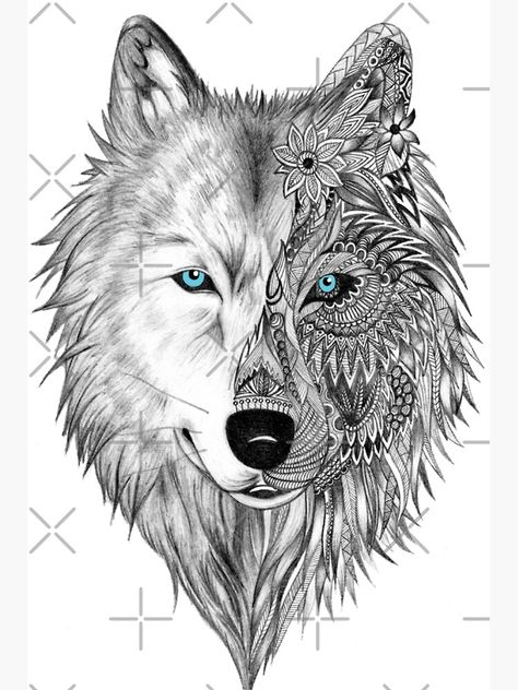 Wolf Tattoos, Wolf Face Tattoo, Black Tattoos, White Wolf Tattoo, Small Tattoos, Fish Tattoos, Elephant Tattoos, Forearm Tattoos, Hand Tattoos