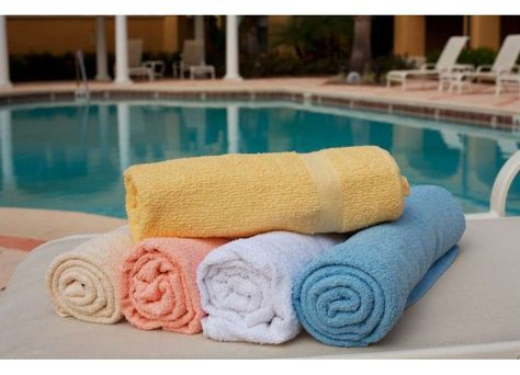 36 X 68 Colored Beach Towels Towel Pool Towels Hotel Towels