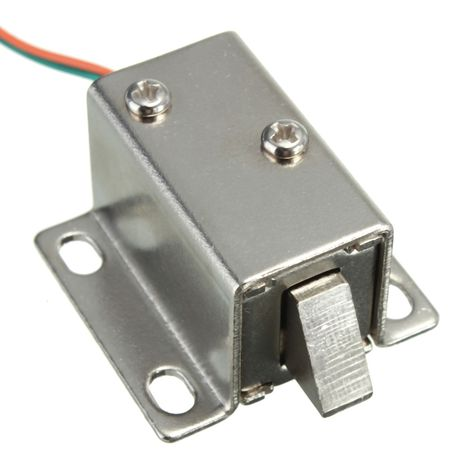 12v Dc Cabinet Door Drawer Electric Lock Assembly Solenoid Lock 27x29x18mm Shkaf Yashiki Dveri
