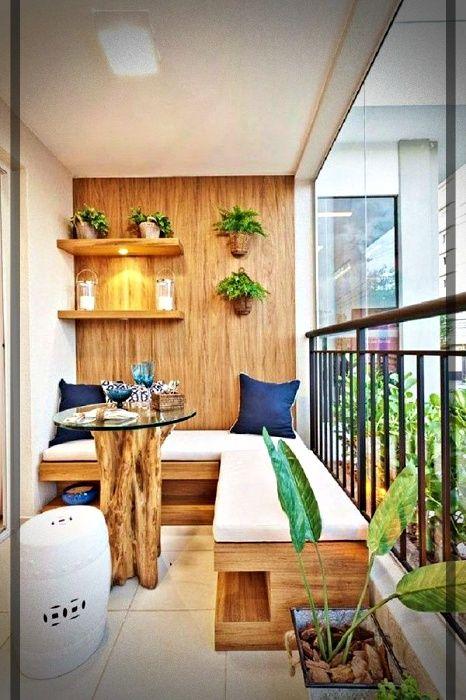 Hoy Las Mejores Ideas Para Balcones Pequenos Te Las Compartimos En Mundo Fachadas No Small Apartment Balcony Ideas Small Balcony Decor Small Balcony Design
