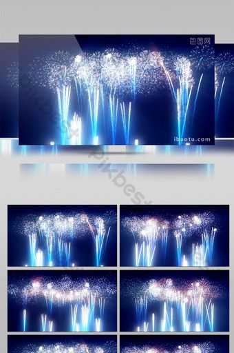 Shocking City Fireworks Show Background Video Video Mp4 Free Download Pikbest In 2020 Party Background Republic Day Indian Fireworks