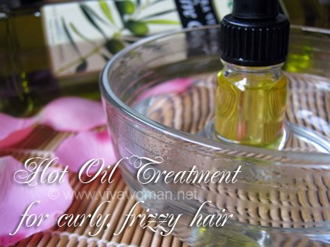 hot oil treatment for curly frizzy hair more oil treatments treatments ...