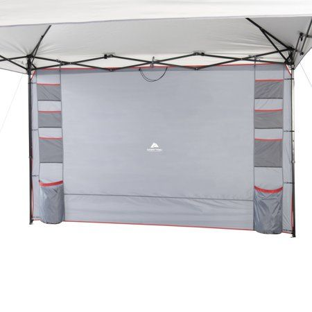 Ozark Trail Shade Wall With Organizer Pockets For Straight Leg Canopy Walmart Com In 2020 Ozark Trail Ozark Canopy