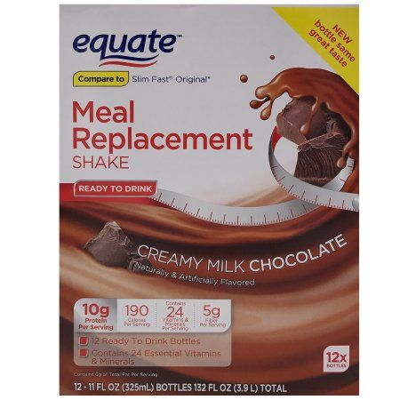 Equate ultra weight loss shake ingredients