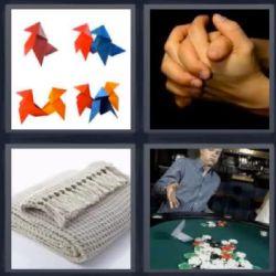 origami 4 fotos 1 palabra