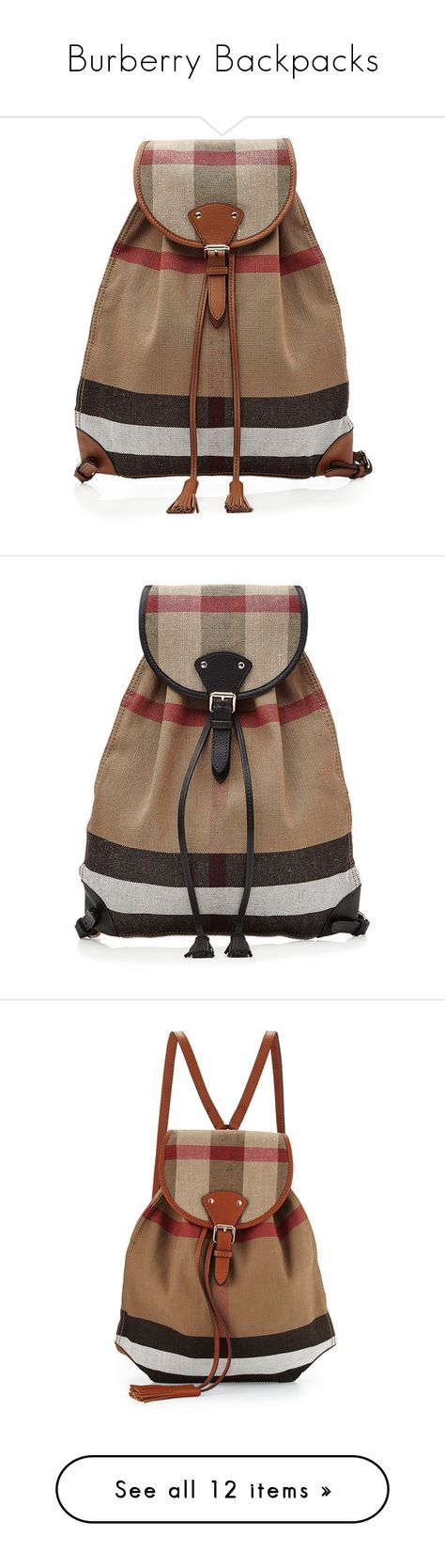 Burberry Buckle Backpack