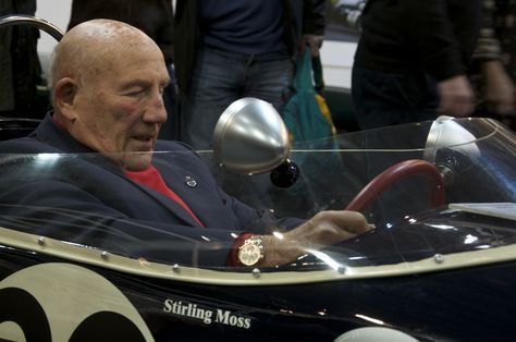 Sir Stirling Moss reunited with the Lotus 18 he raced to victory at the 1961 Monaco Grand Prix
