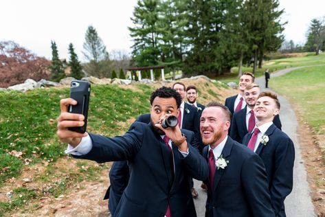 Had to get a few quick selfies in during photos! . . . . . #outdoorwedding #outdoorceremony #bestman #groomsmen #bridalparty #downingtowncountryclub #downingtown #downingtownweddings #chestercounty #dccweddings #chestercountyweddings #ronjaworskiweddings #downingtowncountyclubweddings #countryclubwedding #beautifuldowningtown